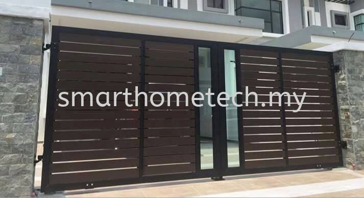 Fully Aluminium Gate 100% Fully Aluminium Gate (Smartgate) Aluminium Gate Melaka, Malaysia Supplier, Supply, Supplies, Installation | SmartHome Technology Solution