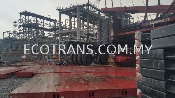 Temporary Foundation For Crane Mamoet 3000 Tonne Project References Johor Bahru (JB), Malaysia, Ulu Tiram Supplier, Rental, Equipment, Machinery | Ecotrans Construction & Heavy Machinery Sdn Bhd