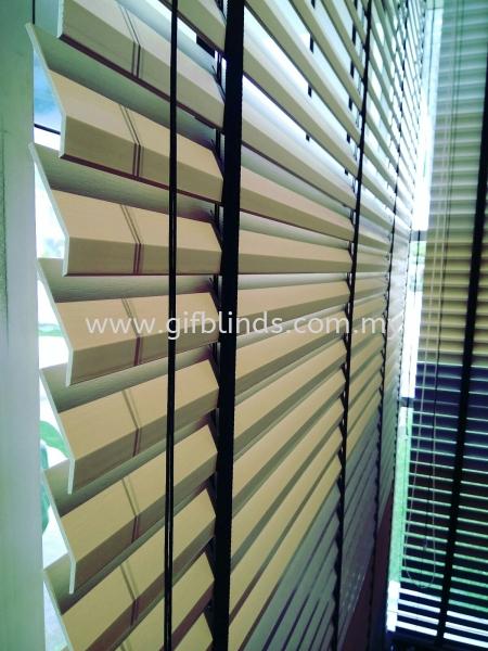 Fauxwood PVC Blinds Johor Bahru, JB, Johor, Malaysia. Supplier, Suppliers, Supplies, Supply | GIF Blinds (M) Sdn Bhd
