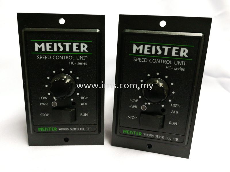 HC40I-22G (40W) Meister Speed Controller Motor Speed Controller Controller Johor, Johor Bahru, JB, Malaysia Supplier, Suppliers, Supply, Supplies | iMS Motion Solution (Johor) Sdn Bhd