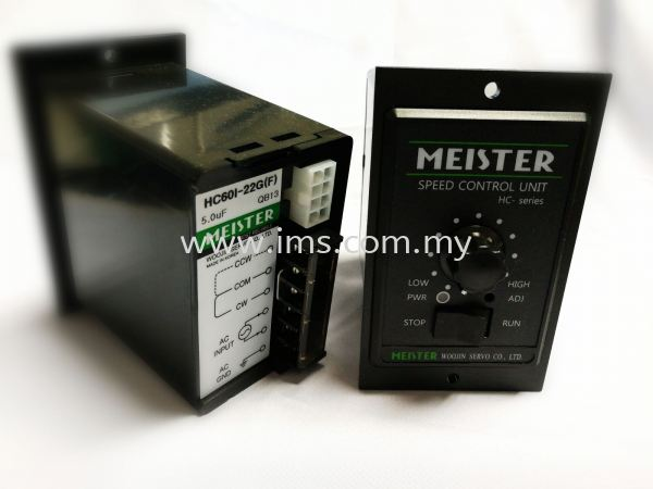 HC15I-22G (15W) Meister Speed Controller Motor Speed Controller Controller Johor, Johor Bahru, JB, Malaysia Supplier, Suppliers, Supply, Supplies | iMS Motion Solution (Johor) Sdn Bhd