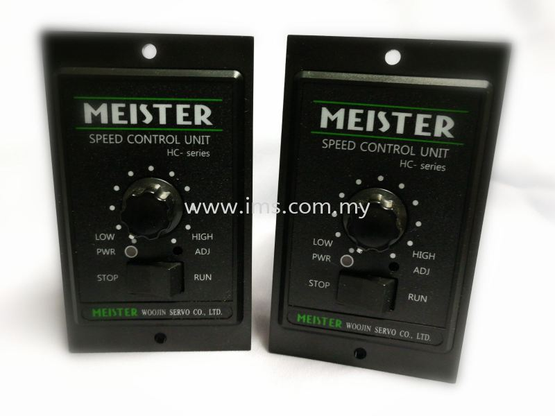 HC6I-22G (6W) Meister Speed Controller Motor Speed Controller Controller Johor, Johor Bahru, JB, Malaysia Supplier, Suppliers, Supply, Supplies | iMS Motion Solution (Johor) Sdn Bhd