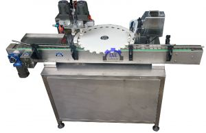 Automatic filling and capping machine for vape