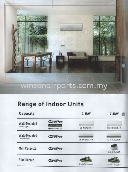 Indoor Unit Multi-Split Air Conditioners Panasonic Business Skudai, Johor Bahru (JB), Malaysia. Suppliers, Supplies, Supplier, Repair | Winsonair Conditioning Sdn Bhd