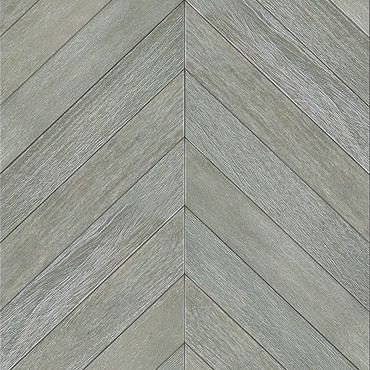 Gmelina Stained Grey Chevron