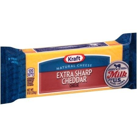 Kraft Extra Sharp Cheddar Chunk - Resealable Cheese Kuala Lumpur (KL), Selangor, Malaysia Supplier, Supply, Supplies, Distributor | Five Star Gourmet Sdn Bhd