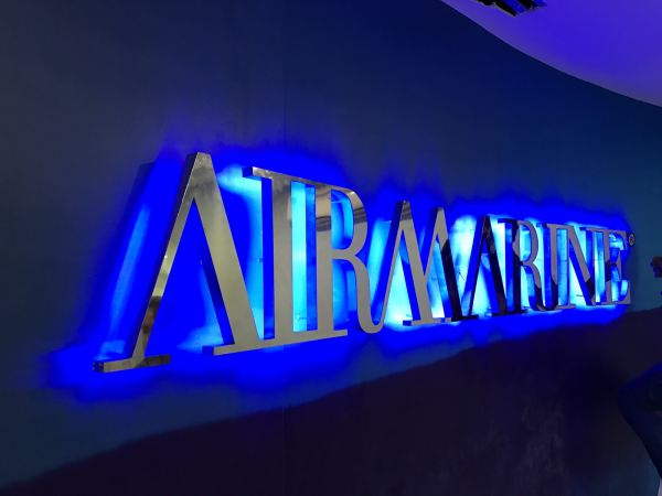 'Airmerine' Stainless Steel Box Up  Stainless Steel Box Up Lettering Selangor, Kuala Lumpur (KL), Klang, Malaysia Supplier, Supply, Manufacturer, Service | A One Advertising Sdn Bhd