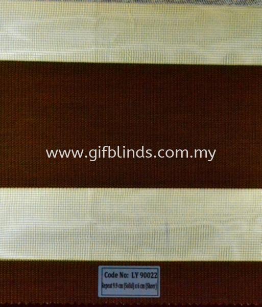 Zebra Blinds Sample LY90022 Zebra Blinds Sample LY90022-25 Zebra Blinds Johor Bahru, JB, Johor, Malaysia. Supplier, Suppliers, Supplies, Supply | GIF Blinds (M) Sdn Bhd
