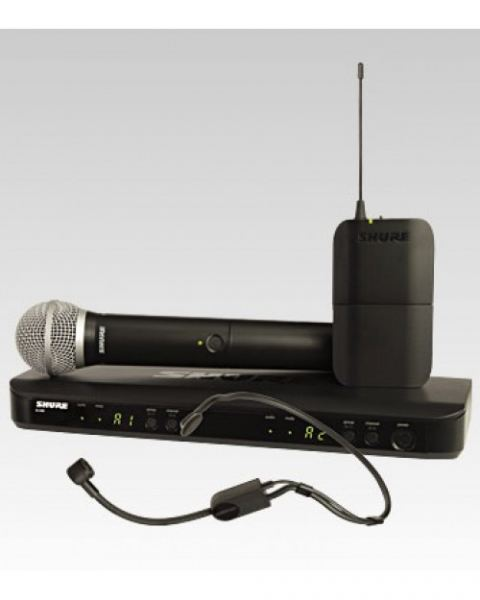 Shure BLX1288 P31 Dual Channel Combo Wireless System Wireless Microphone Microphones Accessories Penang, Malaysia, Kimberley Street Supplier, Suppliers, Supply, Supplies | P.H.G Enterprise Sdn Bhd