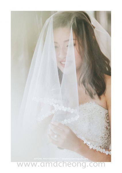 Yvonne's Wedding Bridal Actual Day and Lunch/Night Singapore Service | Amanda Cheong Make Up Artist