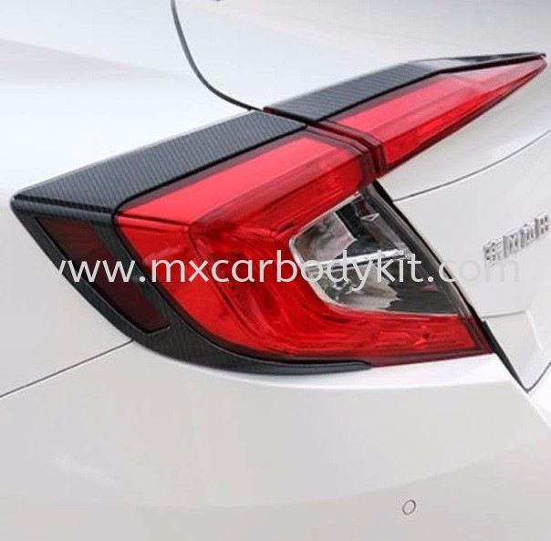HONDA CIVIC 2016 TAIL LAMP COVER WITH CARBON LOOK CIVIC FC 2016 HONDA Johor, Malaysia, Johor Bahru (JB), Masai. Supplier, Suppliers, Supply, Supplies | MX Car Body Kit