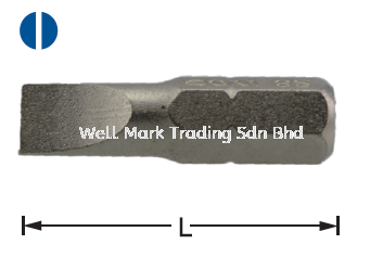 Dr Slotted Bit 30L Screwdriver / Bits Professional Hardware Tools Selangor, Malaysia, Kuala Lumpur (KL), Shah Alam Supplier, Suppliers, Supply, Supplies | Well Mark Trading Sdn Bhd