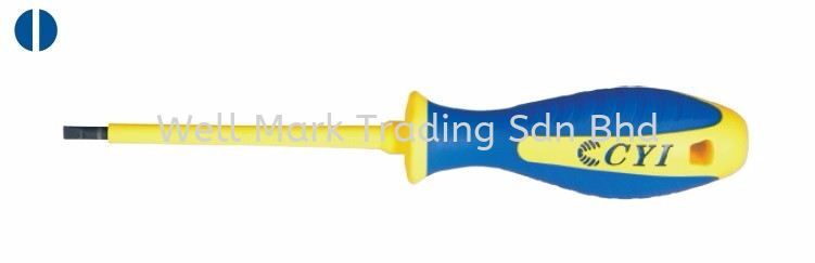 VDE Insulated Screwdriver - Slotted Screwdriver / Bits Professional Hardware Tools Selangor, Malaysia, Kuala Lumpur (KL), Shah Alam Supplier, Suppliers, Supply, Supplies | Well Mark Trading Sdn Bhd