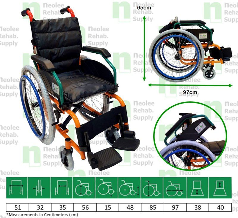 NL980LA-35 Child Wheelchair