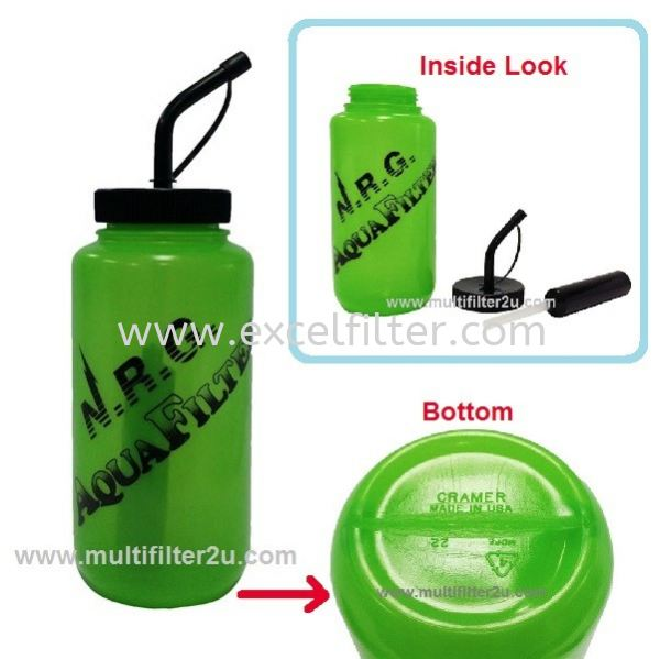 NRG Sport Bottle(Made In USA)+Filter Life Straw   Portable/Camping/Sport Water Filter Selangor, Malaysia, Kuala Lumpur (KL), Cheras Supplier, Suppliers, Supply, Supplies   Excel Filter Sdn Bhd