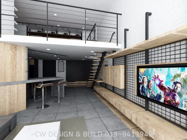 Soho Design@ Empire Damansara, Damansara Perdana, Selangor, Malaysia Soho Interior Design Residential Design Selangor, Malaysia, Balakong, Kuala Lumpur (KL) Services, Design, Renovation, Company | CW Design & Build Sdn Bhd