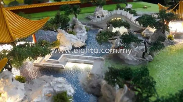 Kek Lok Si Layout Kek Lok Si Layout Others Building Model Layout Malaysia, Penang Building, Model, Maker, Services | Eight A Model Sdn Bhd