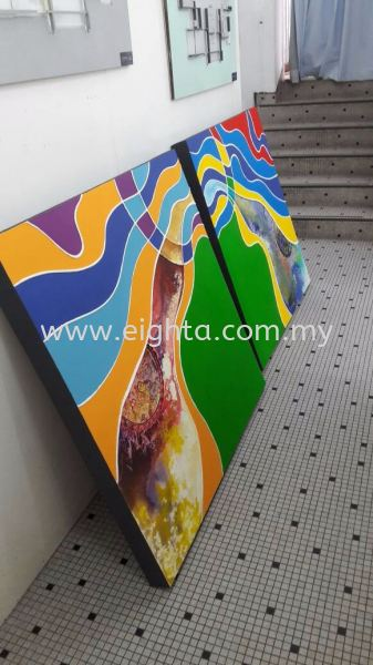 Canvas Painting Canvas Painting  Malaysia, Penang Building, Model, Maker, Services   Eight A Model Sdn Bhd