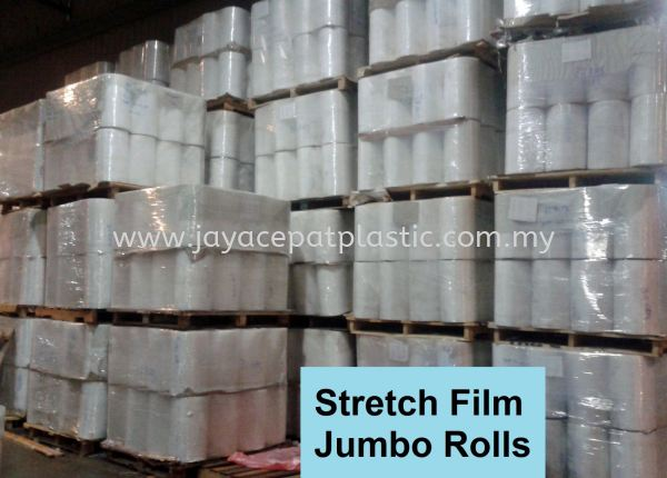 Stretch Film Jumbo Rolls Selangor, Malaysia, Kuala Lumpur (KL), Klang Manufacturer, Supplier, Supply, Supplies   Jaya Cepat Plastic Industries Sdn Bhd