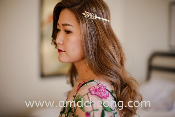Diana's wedding Bridal Actual Day and Lunch/Night Singapore Service | Amanda Cheong Make Up Artist
