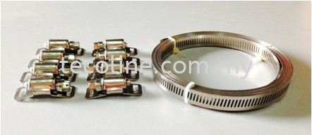 Stainless Steel DIY Clamp Clip & Clamp Selangor, Malaysia, Kuala Lumpur (KL), Puchong Supplier, Suppliers, Supply, Supplies | Tecoline Sdn Bhd