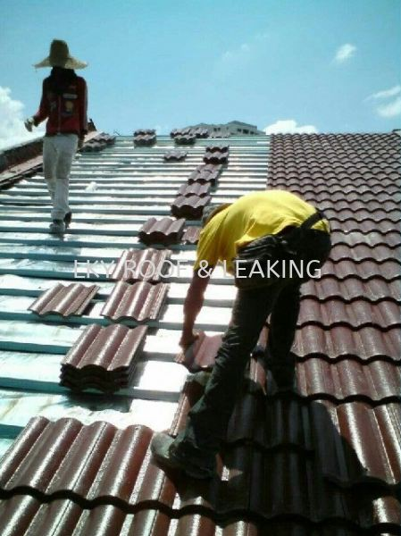 Tile Roof Leak Detection & Repair Service Tile Roof Leak Detection & Repair Service Selangor, Malaysia, Kuala Lumpur (KL), Subang Jaya Services, Contractor, Specialist | LKY Roof Leaking & Plumbing