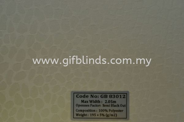Roller Blinds Sample GB83011-14 Roller Blinds Johor Bahru, JB, Johor, Malaysia. Supplier, Suppliers, Supplies, Supply | GIF Blinds (M) Sdn Bhd