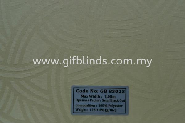 Semi Black Out Sample GB83023 Semi Black Out Sample GB83021-24 Roller Blinds Johor Bahru, JB, Johor, Malaysia. Supplier, Suppliers, Supplies, Supply | GIF Blinds (M) Sdn Bhd