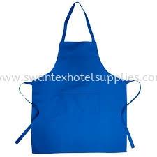 Apron - Blue Color Apron  Johor Bahru (JB), Malaysia Supplier, Suppliers, Supply, Supplies | Swantex Hotel Supplies