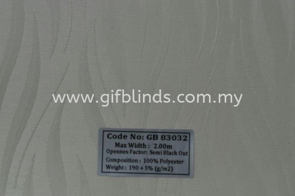 Semi Black Out Sample GB83032 Semi Black Out Sample GB83031-35 Roller Blinds Johor Bahru, JB, Johor, Malaysia. Supplier, Suppliers, Supplies, Supply | GIF Blinds (M) Sdn Bhd