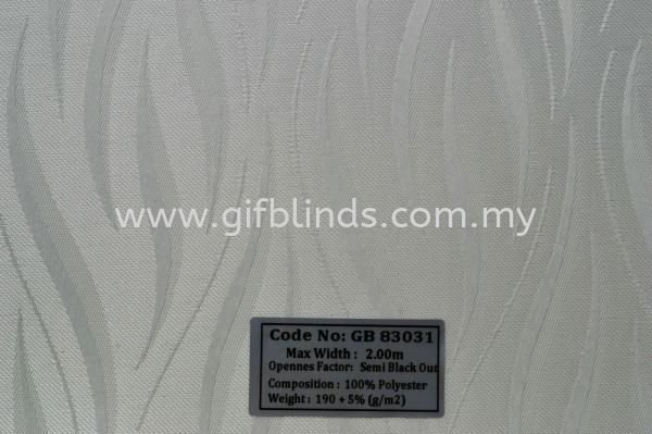 Semi Black Out Sample GB83031 Semi Black Out Sample GB83031-35 Roller Blinds Johor Bahru, JB, Johor, Malaysia. Supplier, Suppliers, Supplies, Supply | GIF Blinds (M) Sdn Bhd