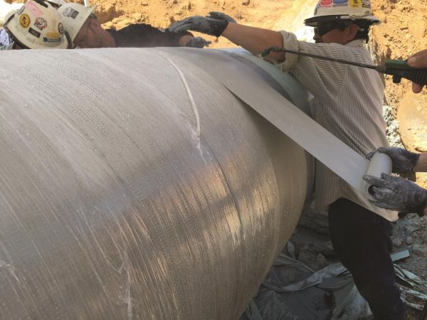 Pipe Wrap Engineering and Support Services Structural Integrity Pipe Repair Systems Selangor, Malaysia, Kuala Lumpur (KL), Subang Jaya Services   Sceptre Power Sdn Bhd