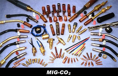 MIG-CO2 MIG Parts WELDING TORCH PARTS AND ACCESSORIES Selangor, Malaysia, Kuala Lumpur (KL), Puchong Supplier, Suppliers, Supply, Supplies   Lincoln Energy Sdn Bhd