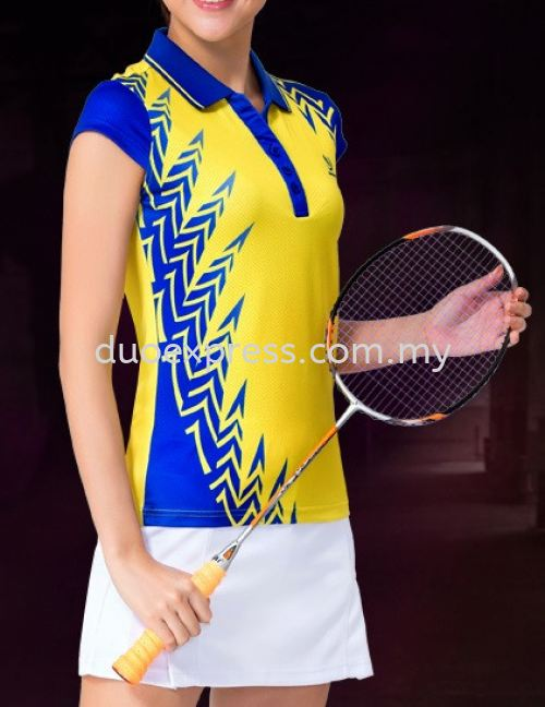 Dye Sublimation Badminton Jersey 4