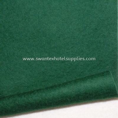 """Green Felt Size 58""""x 96"""" Green Felt Johor Bahru (JB), Malaysia Supplier, Suppliers, Supply, Supplies   Swantex Hotel Supplies"""