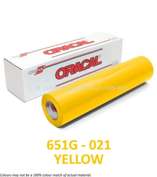 ORACAL 651 Series ORACAL 651 Gloss Series ORACAL 651 Intermediate Cal Series Graphic Products Kuala Lumpur (KL), Selangor, Malaysia. Supplier, Suppliers, Supply, Supplies | S.M. (SAMAS) Enterprises Sdn Bhd