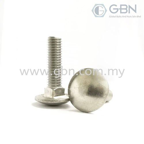 Carriage Bolt Din 603 Carriage Bolts Bolts Johor Bahru (JB), Malaysia, Johor Jaya Supplier, Suppliers, Supply, Supplies   Global Bolts And Nuts Sdn Bhd
