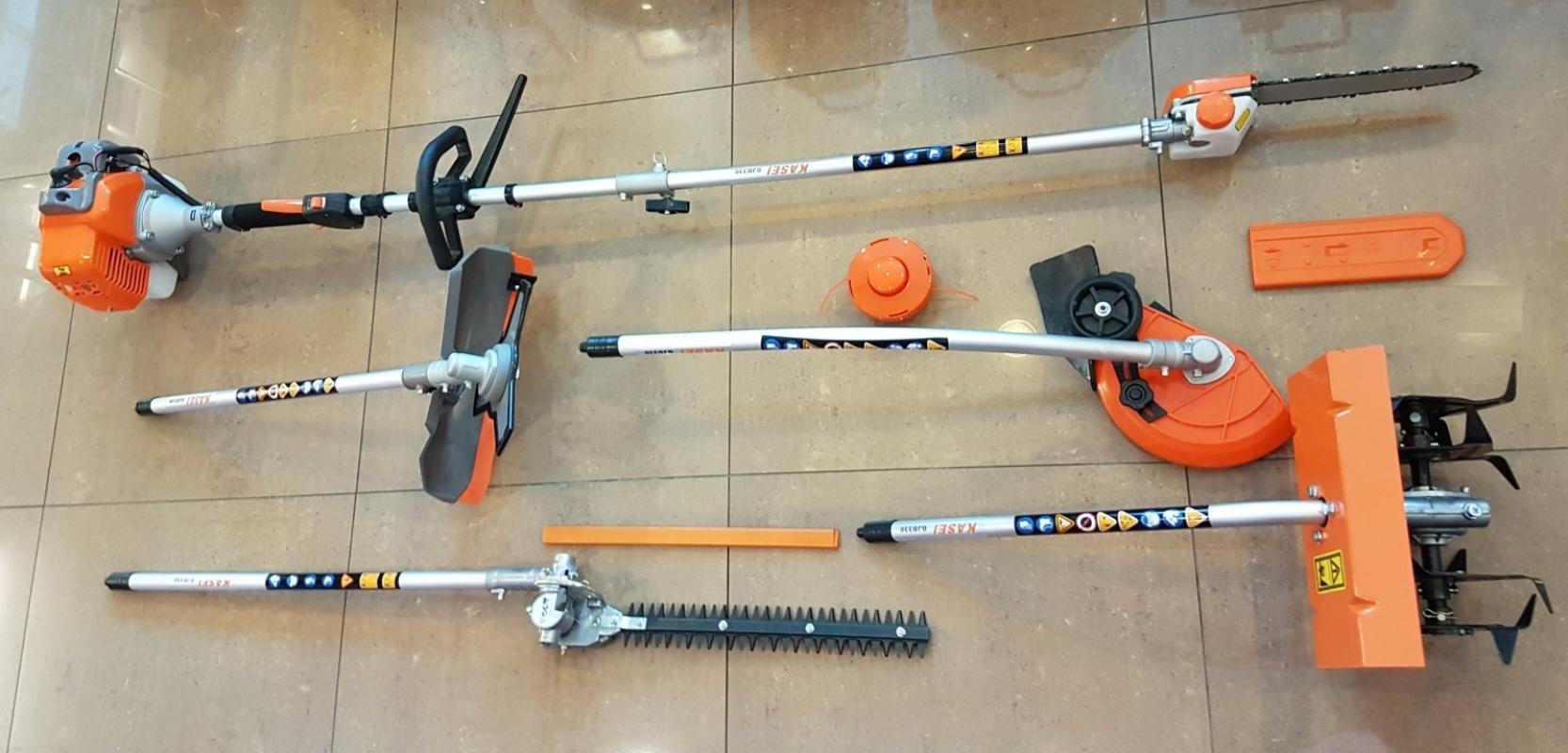 Kasei QJD330 Pole Pruner 5 in 1 Multi Tools Set ID228112