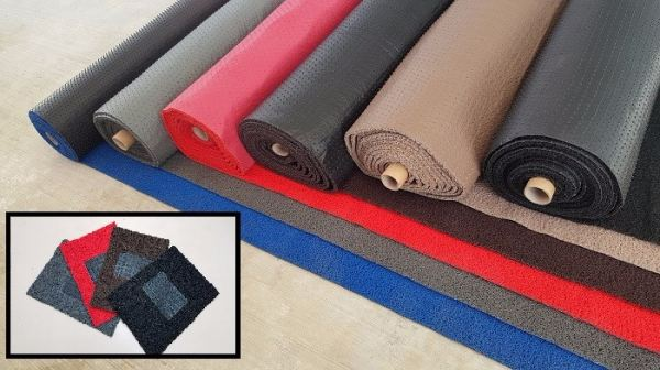Car Mat In Roll (Nail Backing) - One Tone Car Mat In Roll Car Mat Malaysia, Penang, Bayan Lepas Supplier, Suppliers, Supply, Supplies | YGGS World Sdn Bhd