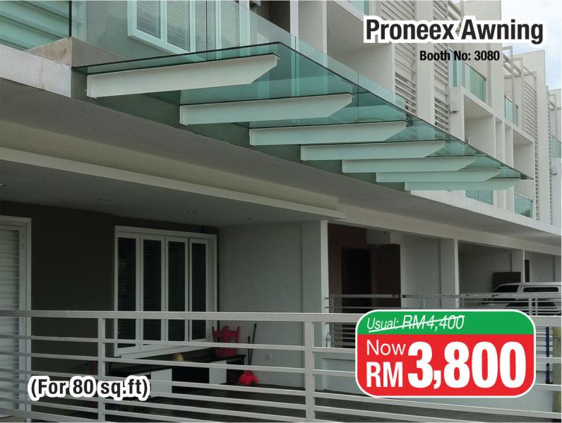Glass Canopy Awning March 2018 Malaysia, Kuala Lumpur (KL), Selangor Exhibition, Fair, Expo   BW Cyans Events Sdn Bhd