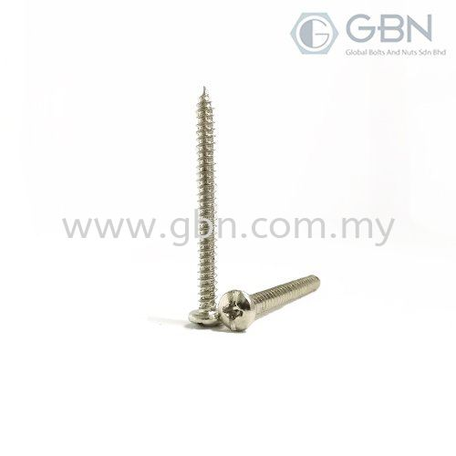 Pan Philips Self Tapping Din 7981 Self Tapping Screws Screws Johor Bahru (JB), Malaysia, Johor Jaya Supplier, Suppliers, Supply, Supplies | Global Bolts And Nuts Sdn Bhd