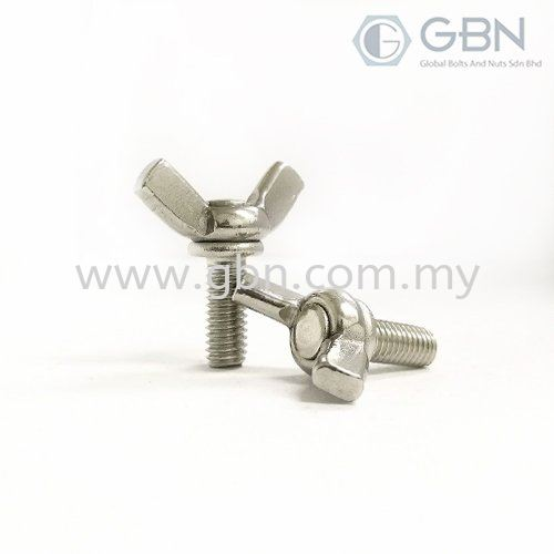 Wing Screw DIN 316 Wing Screws Screws Johor Bahru (JB), Malaysia, Johor Jaya Supplier, Suppliers, Supply, Supplies | Global Bolts And Nuts Sdn Bhd