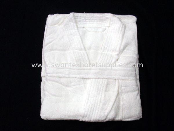 "Terry Towel Bath Robe L48"" 1kg Bathrobe Johor Bahru (JB), Malaysia Supplier, Suppliers, Supply, Supplies   Swantex Hotel Supplies"