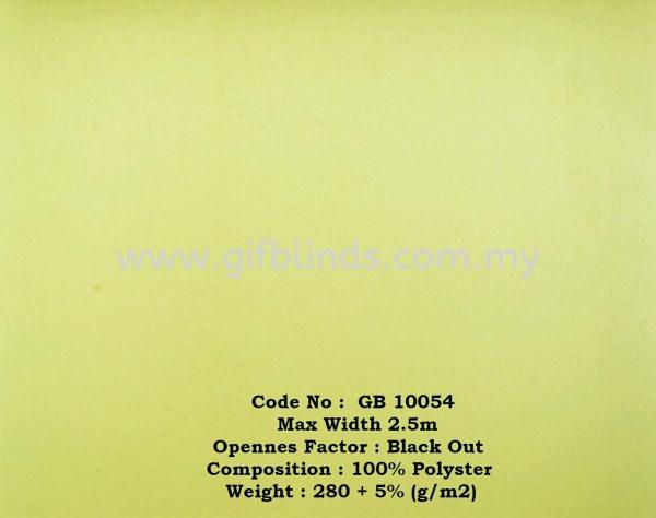 Black Out Roller Sample GB10054 Block Out Roller Sample GB10051-55 Roller Blinds Johor Bahru, JB, Johor, Malaysia. Supplier, Suppliers, Supplies, Supply | GIF Blinds (M) Sdn Bhd
