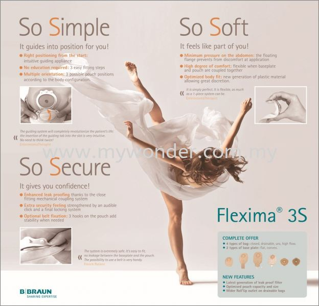 FLEXIMA 3S BASE PLATE Flexima 3S Base Plate BBRAUN Stoma Care Penang, Malaysia, Prai Supplier, Suppliers, Supply, Supplies   Mystique Wonder Sdn Bhd