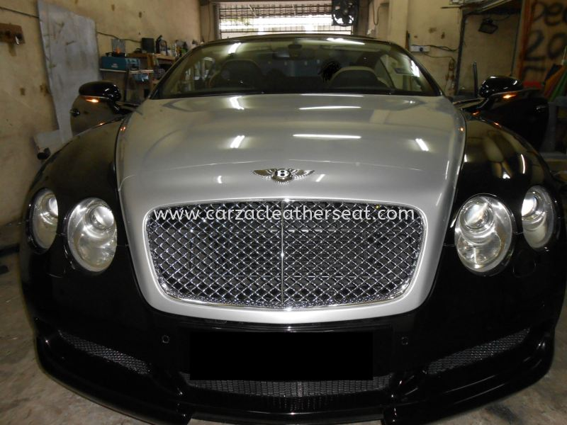 Bentley Continental GT Replace Nappa Leather Seat Car Leather Seat Cheras, Selangor, Kuala Lumpur, KL, Malaysia. Service, Retailer, One Stop Solution | Carzac Sdn Bhd