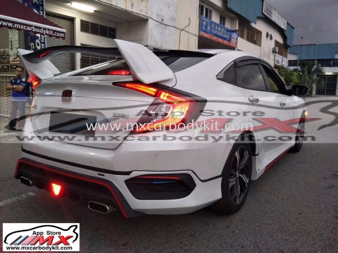2016 HONDA CIVIC FC TYPE-R SPOILER  CIVIC FC 2016 HONDA Johor, Malaysia, Johor Bahru (JB), Masai. Supplier, Suppliers, Supply, Supplies | MX Car Body Kit