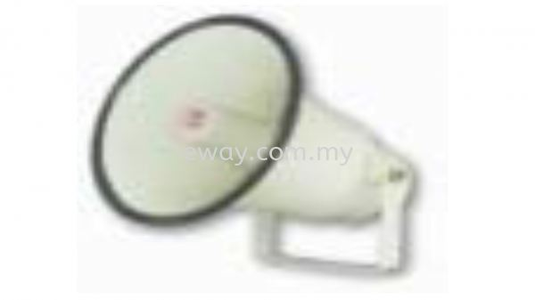 HS815 Round Flare Horn Speaker 15 W 100V line horn speaker with 8 inch aluminium flare AMPERES PA SYSTEM Seri Kembangan, Selangor, Kuala Lumpur, KL, Malaysia. Supply, Supplier, Suppliers   e Way Solutions Enterprise
