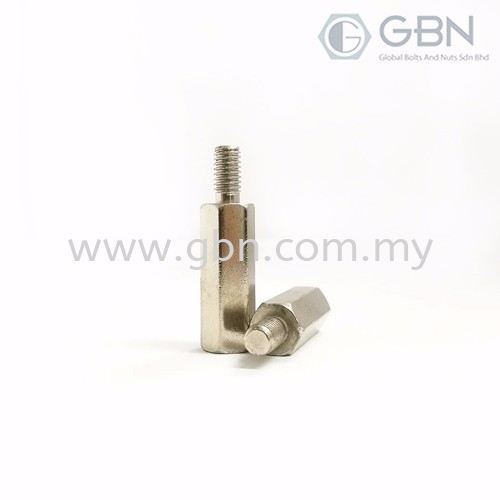Hex Spacer - Male/Female Bushes & Spacers Johor Bahru (JB), Malaysia, Johor Jaya Supplier, Suppliers, Supply, Supplies | Global Bolts And Nuts Sdn Bhd