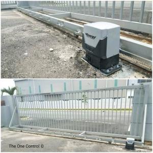 Autogate System . Resident & Commecial type . Puchong Prima . Ijok Bukit Badong . 8 Jun 2017 .